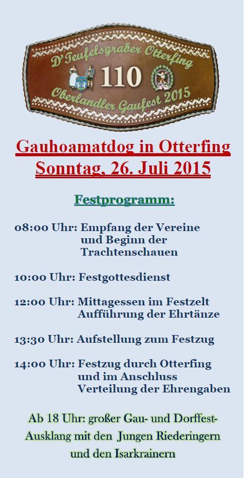 2015 Gaufestfest Otterfing