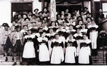 1954 Gaufest Gmund_Gruppenfoto (web)